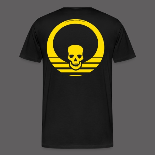 Sunset Yellow - Men's Premium T-Shirt