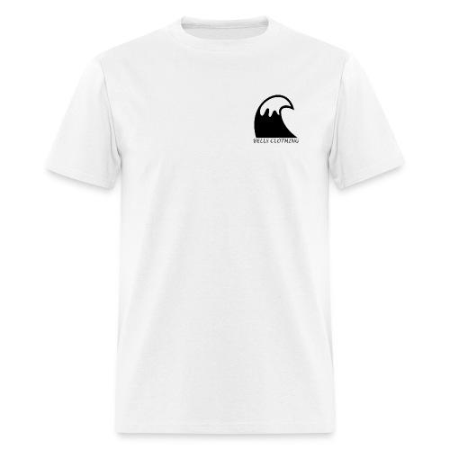 White Staple Wave Tee - Men's T-Shirt