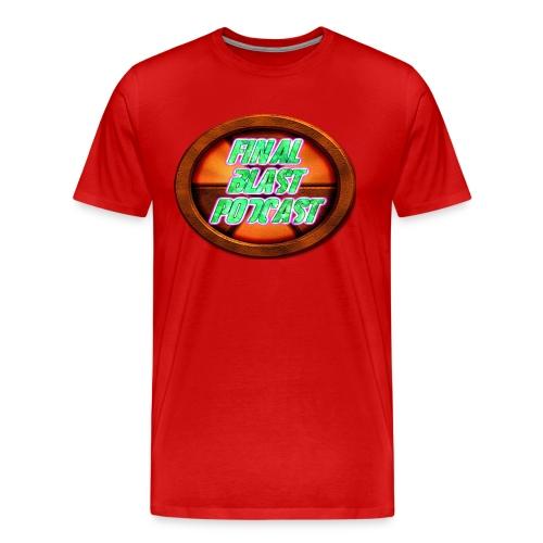 FINAL BLAST PODCAST Tee - Men's Premium T-Shirt