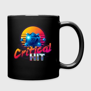 Critical Hit Dungeons & Dragons d20 - Full Color Mug
