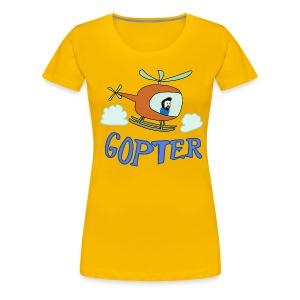 Gopter - Women's Premium T-Shirt