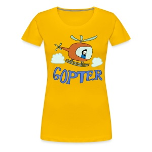 Gopter - Women's Premium T-Shirt