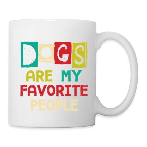 Tom's Tees Dogs Are My Favorite People - Coffee/Tea Mug