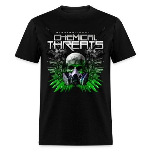 CHEMICAL THREATS MASS WEAPONS SHIRT - Men's T-Shirt