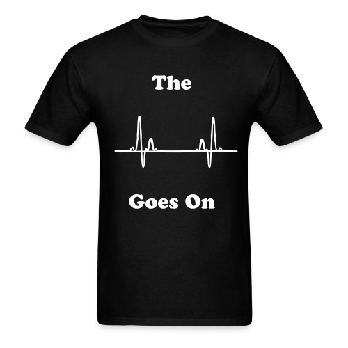 The Beat Goes On and On and On - Men's T-Shirt