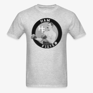 ham fisted T grey - Men's T-Shirt