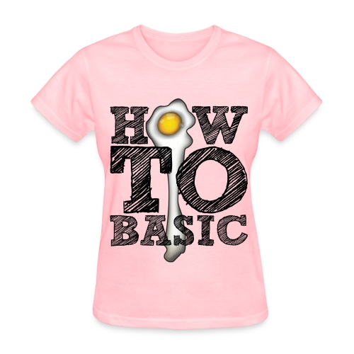 how_to_basic01 - Women's T-Shirt