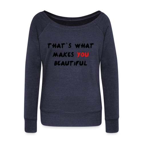 ONE DIRECTION  - Women's Wideneck Sweatshirt