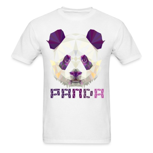 Violet Panda - Men's T-Shirt