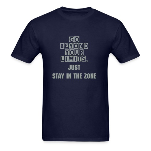 Stay in the zone men's tee - Men's T-Shirt
