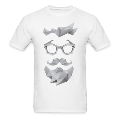 Nerd X SwagTheBeard - Men's T-Shirt