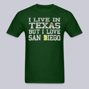 Live In Texas Love San Diego - Men's T-Shirt