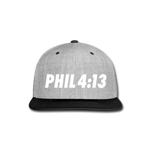 Philippians 4:13 - Snap-back Baseball Cap