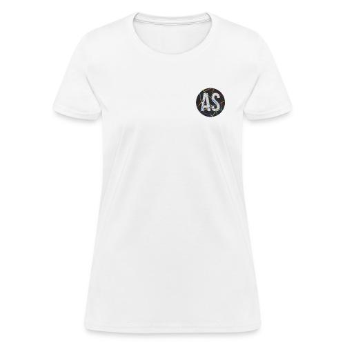 AS (AvecSimon) Pastille Noir -Femme- - T-shirt pour femmes