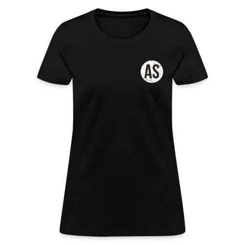 AS (AvecSimon) Pastille Blanche -Femme- - T-shirt pour femmes
