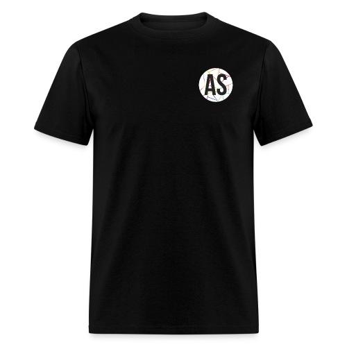 AS (AvecSimon) Pastille Blanche -Homme- - T-shirt pour hommes