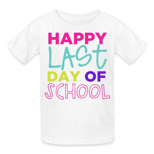 Happy Last Day Of School Kids - Kids' T-Shirt