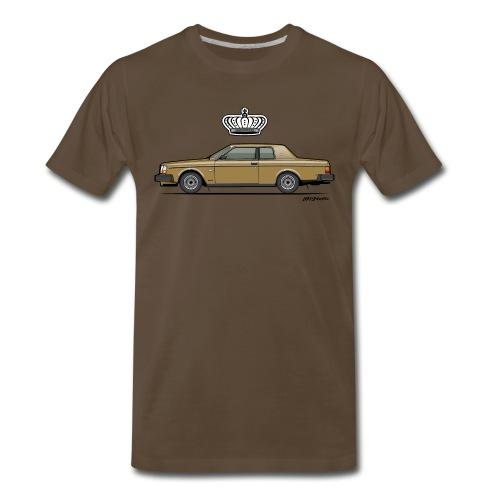 262C Bertone Coupe Gold - Men's Premium T-Shirt