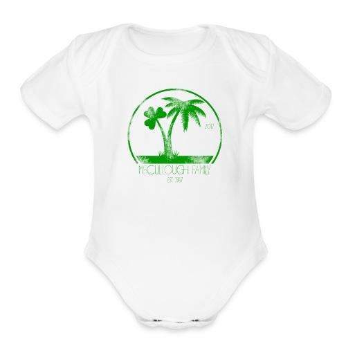 Baby Bodysuit - Organic Short Sleeve Baby Bodysuit