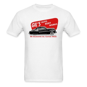 A-Gil's Auto Body Works Guarantee Front & Back (FotL) - Men's T-Shirt