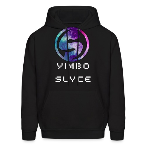 Galaxy logo with text - Men's Hoodie
