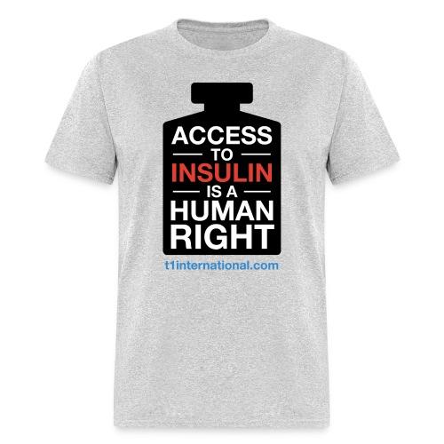 Men's Access to Insulin t-shirt - Men's T-Shirt
