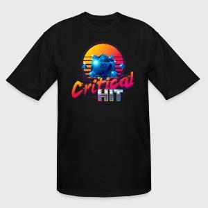 TALL Critical Hit Dungeons & Dragons d20 - Men's Tall T-Shirt