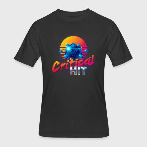 Critical Hit Dungeons & Dragons d20 - Men's 50/50 T-Shirt