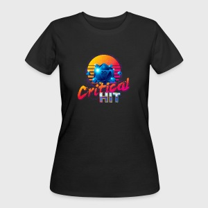 Critical Hit Dungeons & Dragons d20 - Women's 50/50 T-Shirt