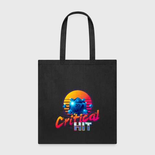 Critical Hit Dungeons & Dragons d20 - Tote Bag