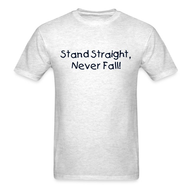 Male - Stand Straight, Never Fall!