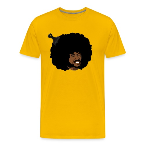 Cringing Omar Afro - Men's Premium T-Shirt
