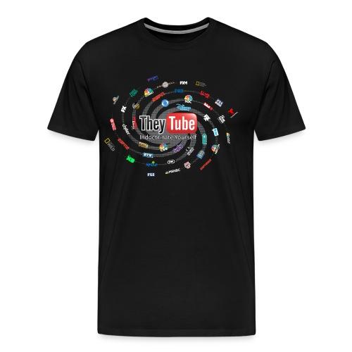 TheyTube Has Taken Over YouTube - Men's Premium T-Shirt
