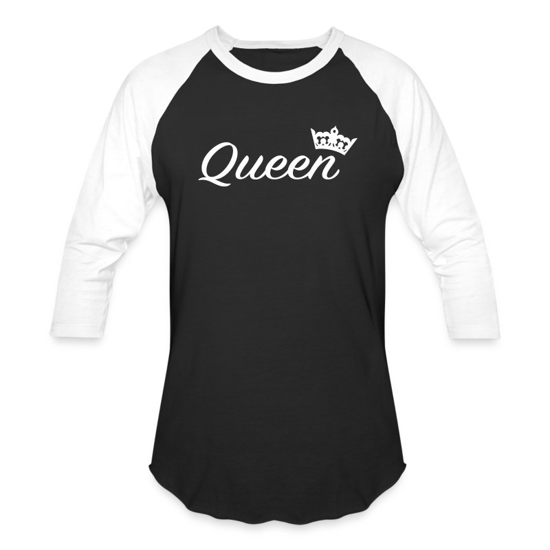 Queen / couples t-shirt - Baseball T-Shirt
