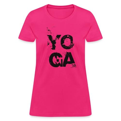 Y O G A T-Shirt - BW - Women's T-Shirt