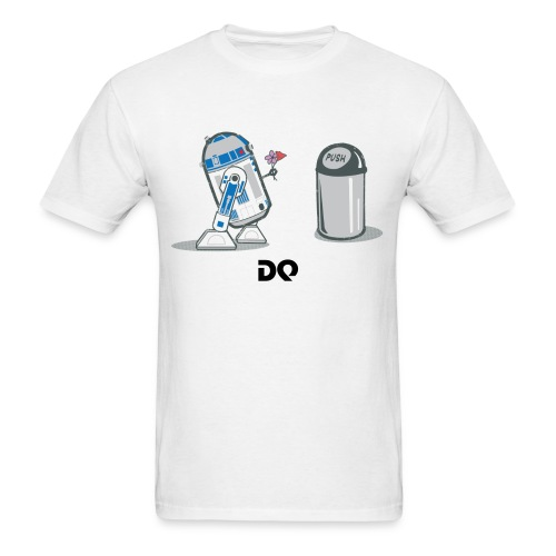 robot_crush_spreadshirt - Men's T-Shirt