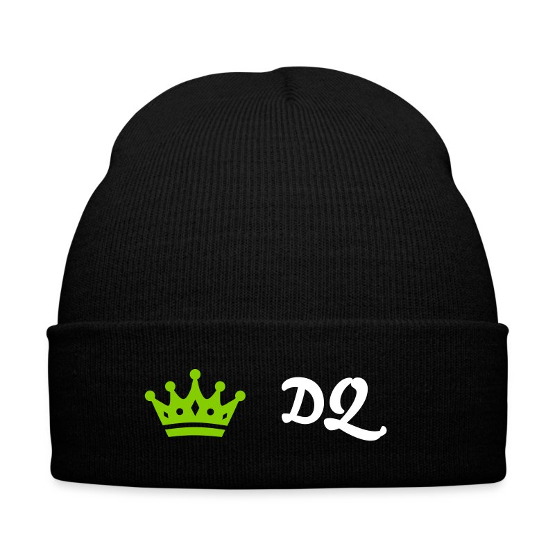 Couronne - Knit Cap with Cuff Print