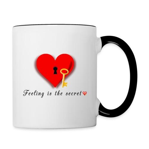 The Key To Dreams Coming True - Contrast Coffee Mug