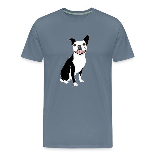 Boston TerrierDog Shirt - Men's Premium T-Shirt