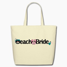 Beach Bride Eco- Friendly Tote