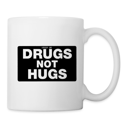Sheep On Drugs - Not Hugs  - Coffee/Tea Mug