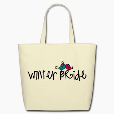 Winter Bride Eco-Friendly Tote
