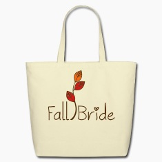 Fall Bride Eco-Friendly Tote