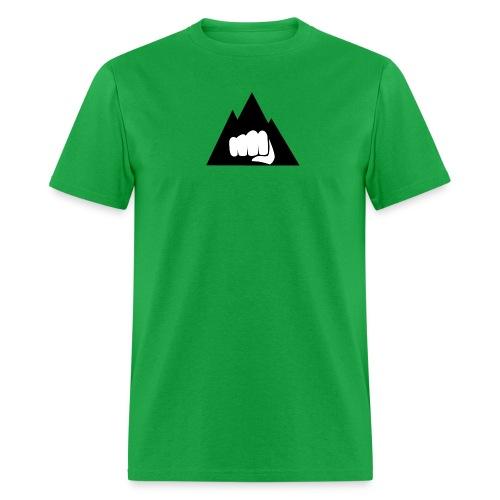 The Mountain Logo T-Shirt (L) Men's Fruit of the Loom - Men's T-Shirt