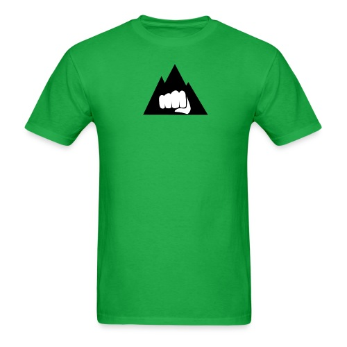 The Mountain Logo T-Shirt (L) Men's Fruit of the Loom - Men's T-Shirt