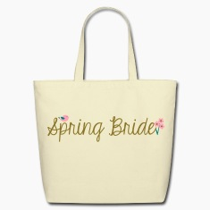 Spring Bride Eco-Friendly Tote