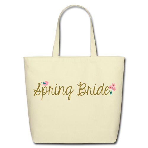 Spring Bride Eco-Friendly Tote - Eco-Friendly Cotton Tote