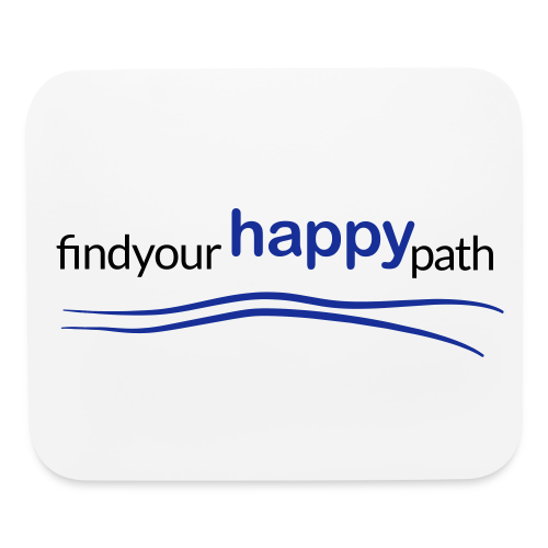 Happy Path Mouse Pad - Mouse pad Horizontal