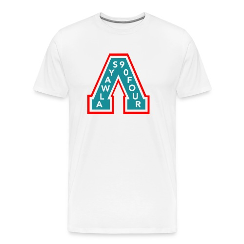 Always A White Rocket - Men's Premium T-Shirt