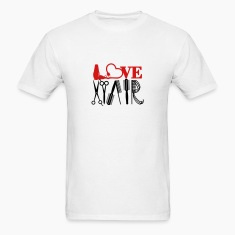 hair stylist's love (1c) T-Shirts